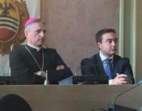 """VOGHERA 17/10/2017: Il Vescovo in Municipio. Affronti: """"La sua una vera e propria lectio magistralis di Buona Politica"""
