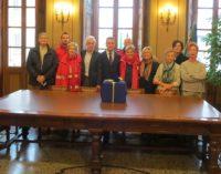 VARZI 28/11/2017: Alla Croce rossa di Varzi del materiale sanitario donato dal Rotary club Valle Staffora