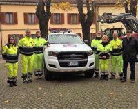 CERVESINA PANCARANA 15/11/2017: Ora la Protezione civile ha un nuovo pick-up