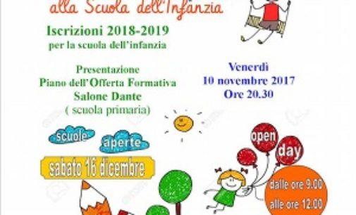 VOGHERA 13/11/2017: Scuola. Tutti gli Oper day che si terranno nella sede dell'Istituto comprensivo Dante