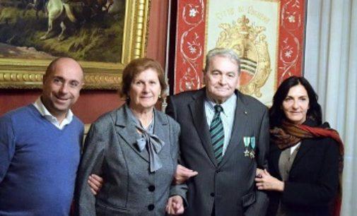VOGHERA 20/11/2017: Carlo e Franca Gravanaghi. Nozze di smeraldo festeggiate in Municipio