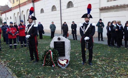 """VOGHERA 27/11/2017: """"Tacendo hai obbedito. E Tacendo ci hai lasciato"""". Commemorato domenica il maresciallo dei Carabinieri Riccardo Bonn morto in servizio 20 anni fa"""