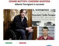VOGHERA 08/11/2017: Alberto Torregiani vittima del terrorista Battisti chiede giustizia. Lunedì 13/11 alla sala Zonca