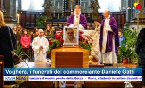 VOGHERA 23/11/2017: Duomo affollato oggi per l'addio a Daniele Gatti