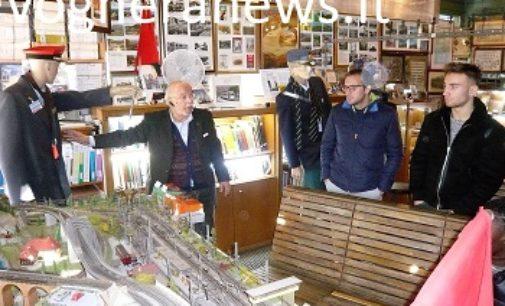VOGHERA 16/11/2017: Banda di ragazzi assalta il Museo ferroviario. Preso di mira un plastico. Insultato il responsabile
