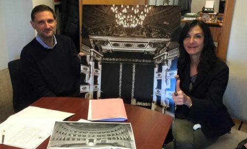 """VOGHERA 30/11/2017: Approvato il progetto esecutivo per il recupero del Teatro Sociale. Azzaretti: """"L'obiettivo è accendere i riflettori entro il 2020"""""""
