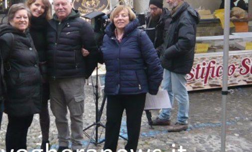 VOGHERA 24/11/2017: Telecamere Rai in città per una puntata di Italian Beauty