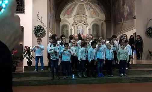 VOGHERA 22/12/2017: In Santa Maria delle Grazie il tradizionale Concerto di Natale della primaria De Amicis