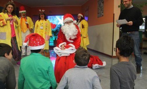 VOGHERA 22/12/2017: Il Natale dell'Asm alla casa famiglia delle suore Benedettine