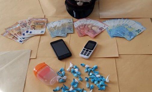 CASTEGGIO 18/12/2017: Cocaina nell'auto. Carabinieri denunciano 24enne