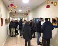 MONTEBELLO 06/12/2017: Ecco la mostra d'arte permanente dedicata ai Pittori e ai Fotografi del nostro territorio creata al Centro Commerciale di Montebello