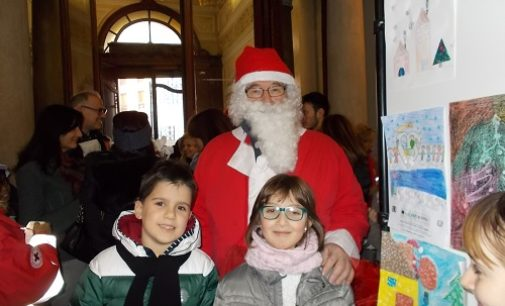 """VOGHERA 27/12/2017: Scuola. La De Amicis al Concorso """"Disegna il tuo Natale """""""