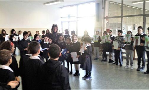 VOGHERA 05/12/2017: La Festa dell'Albero celebrata nella scuola Provenzal di Pombio