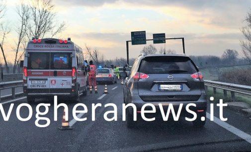 PAVIA 07/12/2017: Terzo incidente nel giro di una settimana nel medesimo tratto della tangenziale. In pochi anni almeno una decina di sinistri nello stesso punto