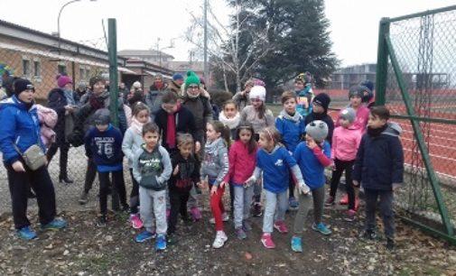 VOGHERA 18/12/2017: Gara sociale con auguri di Natale per l'Atletica Iriense
