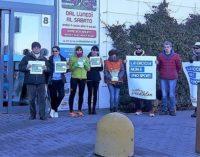 VOGHERA 18/12/2017: LA CACCIA NON E' UNO SPORT! La LAV chiede a Decathlon la riconversione del reparto dedicato alla caccia. Ieri Volontari e attivisti anche davanti al negozio di Voghera