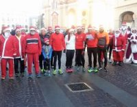 "VOGHERA 27/12/2017: Anche a Voghera i Babbi natale ""runners"""