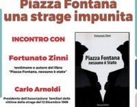 """VOGHERA 01/12/2017: """"Piazza Fontana, una strage impunita"""". VogheraE' organizza un dibattito"""
