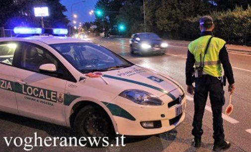 VOGHERA 01/12/2017: Controlli su strada della Polizia Locale. Un arresto e una denuncia