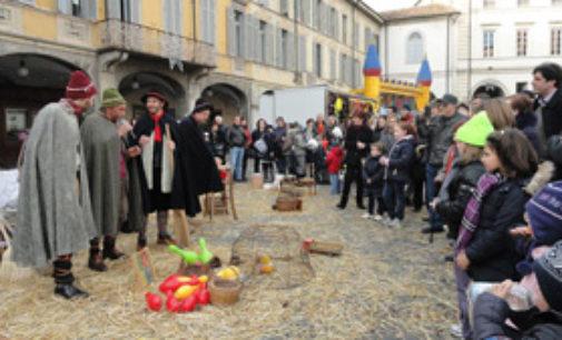 VOGHERA 03/01/2018: Avviso per i bambini. La Casa della Befana sabato sarà in piazza Cesare Battisti