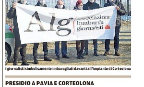 """PAVIA 25/01/2018: La nostra Solidarietà al Giornalista della """"Provincia Pavese"""" indagato per un articolo"""