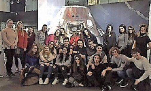 VOGHERA 10/01/2018: Il liceo Sacra Famiglia alla mostra interattiva della Nasa a Milano