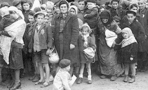 VOGHERA 30/01/2018: Giorno della Memoria. Sacchi al Millenario ricorda le vittime dei Nazifascisti e dei Comunisti