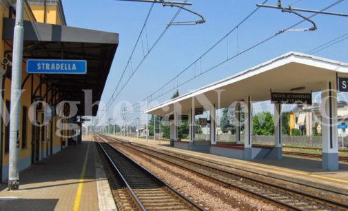STRADELLA 08/04/2021: Treni. Alla stazione di Stradella la nuova emettitrice automatica di biglietti di ultima generazione