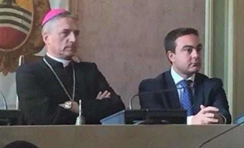 PAVIA VOGHERA 27/05/2021: Promozione di monsignor Viola. Le congratulazioni del consigliere Nicola Affronti