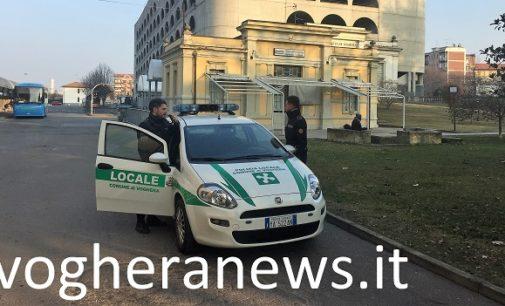 VOGHERA 25/01/2018: Pendolari. Maggiori controlli della Polizia Locale alla Stazione e all'Autoporto nell'orario di arrivo (serale) dei viaggiatori