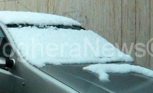VOGHERA OLTREPO 28/02/2018: Neve. Allerta per giovedì e venerdì. Fino a 15 cm sull'Appennino. Qualche centimetro anche in pianura