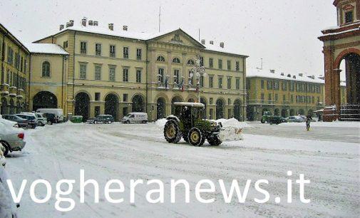 VOGHERA 28/02/2018: Neve. Il piano del Comune per fronteggiare le eventuali precipitazioni fra stanotte e domani