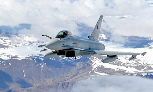 RIVANAZZANO 27/03/2018: Aereo diretto in Oltrepo fa scattare l'allarme cieli e provoca l'intervento dei caccia dell'Aeronautica militare