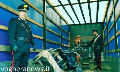 CASEI GEROLA 24/03/2018: Racket dei mezzi di lavoro rubati. Fermati due uomini