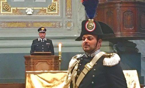 VOGHERA 07/03/2018: Carabinieri in alta uniforme in Duomo per il Precetto pasquale
