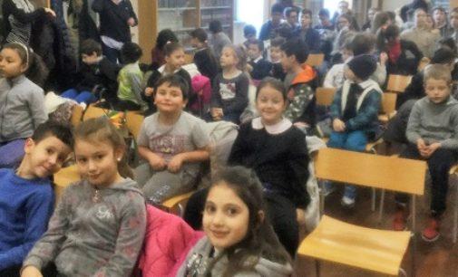"""VOGHERA 02/03/2018: Anche le primarie dell'I.C. di via Marsala al """"Mozart in blue jeans"""""""