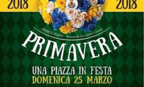 """VOGHERA 23/03/2018: Domenica tutti in piazza Duomo per la festa """"Benvenuta Primavera"""""""