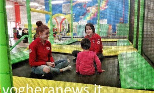 VOGHERA 20/03/2018: Parco Giochi Arcobaleno. Successo dell'iniziativa in favore dei bambini della Casa di Accoglienza delle Suore Benedettine