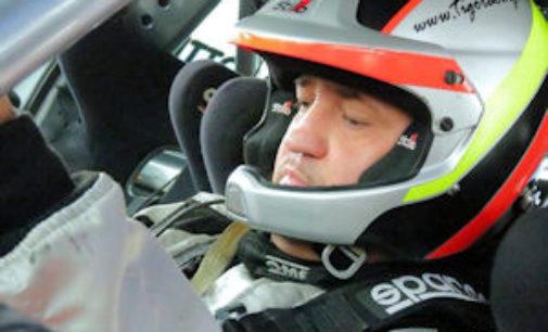 """VOGHERA 08/03/2018: Rally. Andrea """"Tigo"""" Salviotti inizia la stagione a Castelletto con una Fiat Grande Punto Abarth"""