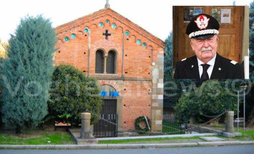 VOGHERA 13/04/2018: Tempio della Cavalleria italiana . Il Piore Gen Temperino cessa il suo mandato. In 9 anni ha trasformato la Chiesa Rossa in un salotto