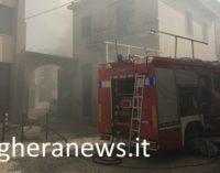 VOGHERA 28/04/2018: Il drammatico incendio di ieri mattina nella casa di vicolo Ricci. I VIDEO
