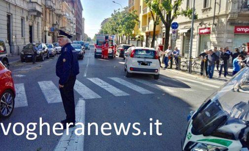 VOGHERA 30/04/2018: Pedone investito mentre attraversa corso XXVII Marzo. Ferito alla testa un 77enne