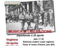 """VOGHERA 20/04/2018: 25 Aprile. Martedì 24 ad Adolescere """"Musica di Liberazione"""""""