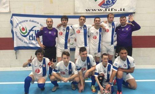 PAVIA 06/04/2018: A Pavia l'allenamento della Nazionale Italiana Diversamente Abili