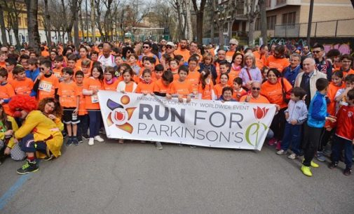 VOGHERA 10/04/2018: Run for Parkinson's. Premiato l'Istituto Comprensivo Dante