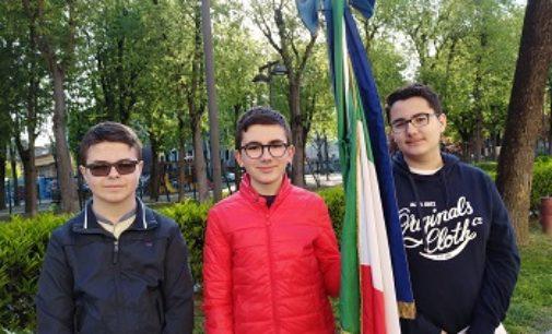 VOGHERA 03/05/2018: Anche gli alunni della Pascoli alle manifestazioni per il 25 aprile