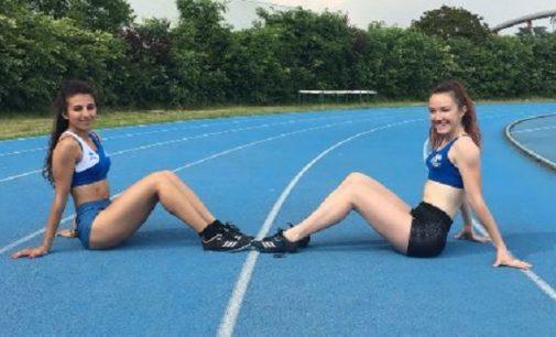 VOGHERA 21/05/2018: Ludovica Pilla. Mai nessuna vogherese veloce come lei sui 300 mt ad ostacoli