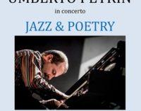 VOGHERA 14/05/2018: Jazz. Umberto Petrin in concerto alla Fondazione Adolescere
