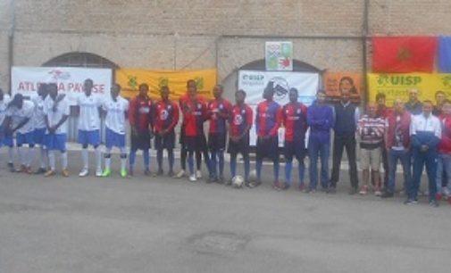 VOGHERA 07/05/2018: Migranti. Conclusa la prima fase del Torneo di Calcio senza Barriere