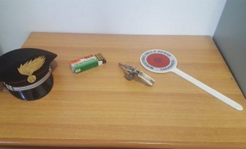 BRONI 25/05/2018: Detiene illegalmente pistola e munizioni. 32enne arrestato dai carabinieri